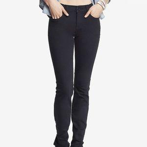 Black mid-rise skinny Express jeans. Sz 10S